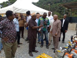 Ghana Railway takes delivery of $ 2 million dollars worth equipment 1